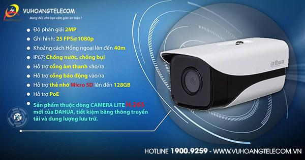 Bán camera IP 2MP Dahua DH-IPC-HFW1230M-AS-I2 giá tốt
