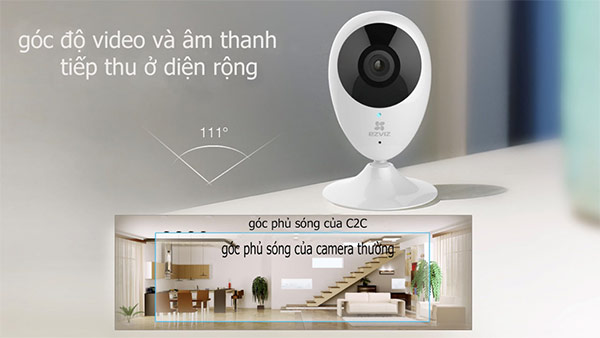 Bán camera Wifi HD1080P Ezviz C2C chính hãng