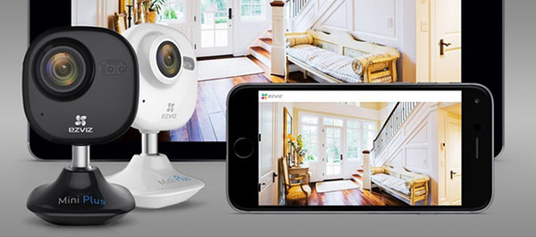 Nhờ hỗ trợ âm thanh hai chiều, camera cho phép bạn nói chuyện với bất kỳ kẻ đột nhập nào ngay tại chỗ