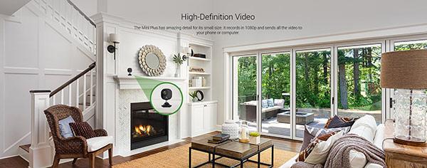 EVIZ Mini Plus có thể được đặt gần như bất cứ nơi đâu xung quanh nhà, văn phòng