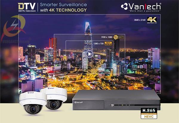 Giới thiệu ưu điểm hệ thống DTV 4K Vantech