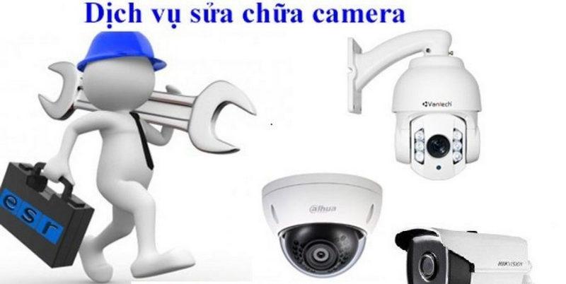 Bảo trì camera đúng cách giúp ngăn chặn các hư hỏng.