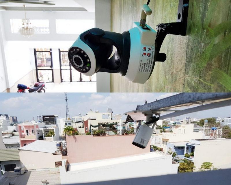 lắp đặt camera chống trộm Bình Dương