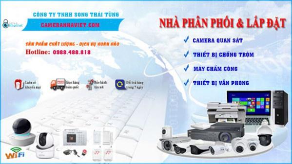 Công ty lắp đạt camera quan sát tại Bình Dương - Camera Nhà Việt
