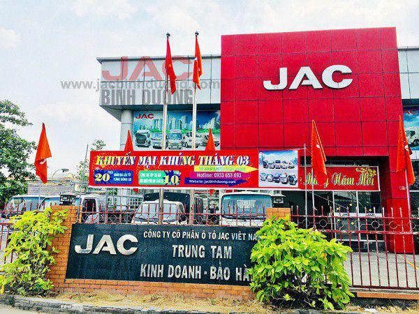 JAC Bình Dương Showroom